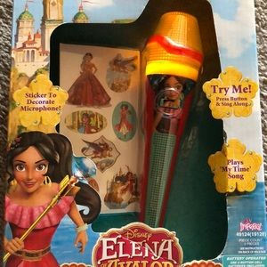 New Elena Avalor light up melody microphone